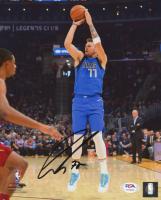 Luka Doncic Signed Mavericks 8x10 Photo (PSA LOA) at PristineAuction.com