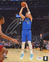 Luka Doncic Signed Mavericks 8x10 Photo (PSA LOA) at PristineAuction.com