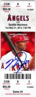 Mike Trout Signed Angels Hit For Cycle MLB Game Ticket (MLB Hologram) at PristineAuction.com