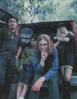 "The Smashing Pumpkins 8x10 Print Signed by (4) With Billy Corgan, James Iha, D'Arcy Wretzky & Jimmy Chamberlain Inscribed ""1993"" (PSA LOA) at PristineAuction.com"