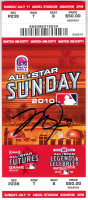 Mike Trout Signed 2010 All-Star Futures MLB Game Ticket (MLB Hologram) at PristineAuction.com