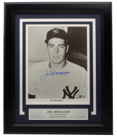Joe DiMaggio Signed Yankees 11x14 Custom Framed Photo Display (Beckett LOA) at PristineAuction.com