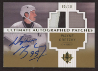 Wayne Gretzky 2007-08 Ultimate Collection Autographed Patches #AJWG at PristineAuction.com