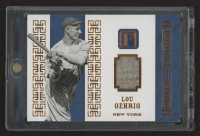 Lou Gehrig 2016 Panini Pantheon Honored and Priveleged Materials Bronze #17 at PristineAuction.com