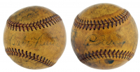 1934 Yankees Baseball Team-Signed by (21) with Babe Ruth, Lou Gehrig, Joe Sewell, Joe McCarthy, Lefty Gomez (PSA LOA) at PristineAuction.com