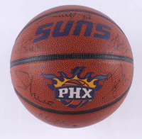 2009 Suns Logo Basketball Team-Signed By (18) with Steve Nash, Jarron Collins, Taylor Griffin, Leandro Barbosa, Channing Frye (JSA ALOA) at PristineAuction.com