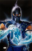 "Greg Horn Signed ""Mortal Kombat: Sub Zero"" 11x17 Lithograph (JSA COA) at PristineAuction.com"