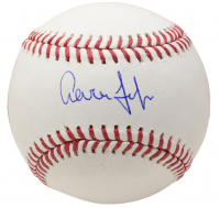 Aaron Judge Signed OML Baseball (Fanatics Hologram & MLB Hologram) at PristineAuction.com