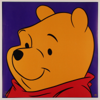 """1997 Disney """"Winnie the Pooh"""" 23.5x23.5 Lithograph at PristineAuction.com"""
