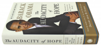 "Barack Obama Signed ""The Audacity of Hope: Thoughts on Reclaiming the American Dream"" Hard Cover Book (PSA COA) at PristineAuction.com"