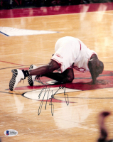 Michael Jordan Signed Bulls 8x10 Photo (Beckett LOA) at PristineAuction.com