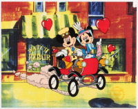 """Walt Disney's """"Nifty Nineties"""" LE 11x14 Serigraph Cel at PristineAuction.com"""