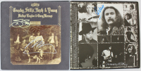 """Crosby, Stills, Nash & Young """"Deja Vu"""" Vinyl Record Album Band-sIgned by (5) with Neil Young, David Crosby, Stephen Stills, Graham Nash & Henry Diltz (Beckett LOA) at PristineAuction.com"""