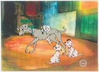 """Walt Disney's """"101 Dalmatians"""" LE 11x14 Animation Serigraph Cel at PristineAuction.com"""