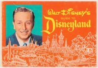 Vintage 1963 Disneyland Pictorial Souvenir & Guide Book at PristineAuction.com