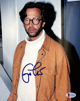 Eric Clapton Signed 8x10 Photo (Beckett LOA) at PristineAuction.com