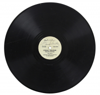 "Frank Sinatra Signed ""Stormy Weather"" Vinyl Record Inscribed ""Best Wishes"" (Beckett LOA) at PristineAuction.com"