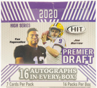 2020 Sage Hit High Hobby Box with (16) Packs at PristineAuction.com