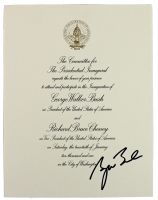 George W. Bush Signed 2001 Inauguration Invitation (Beckett LOA) at PristineAuction.com