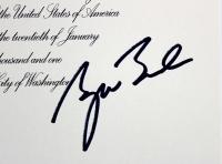 George W. Bush Signed 2001 Inauguration Invitation (Beckett LOA) at PristineAuction.com