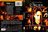 "Heath Ledger Signed ""The Order"" DVD Cover (PSA LOA) at PristineAuction.com"