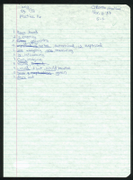Heather O'Rourke Signed Hand-Written Homework Page (PSA LOA) at PristineAuction.com