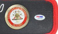 Mike Tyson Signed WBC High Quality Replica Full-Size Belt with (5) Inscriptions (PSA COA) at PristineAuction.com