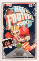 1991 Upper Deck NFL Complete Wax Box Set of (700) Football Cards with (36) Packs at PristineAuction.com