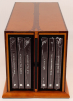 "George Lucas Signed ""Star Wars: Frames"" Limited Edition Sealed 6 Book Set with Display Case (Insight Editions COA) at PristineAuction.com"