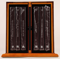 """George Lucas Signed """"Star Wars: Frames"""" Limited Edition Sealed 6 Book Set with Display Case (Insight Editions COA) at PristineAuction.com"""