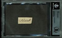 John Adams Signed .5x1.15 Cut (BAS Encapsulated) at PristineAuction.com