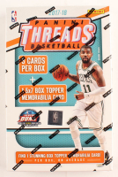 2017/18 Panini Threads Basketball Box with (4) Cards at PristineAuction.com