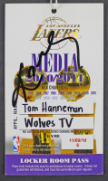 Kobe Byant Signed Lakers 2010-11 Media Pass (PSA LOA) at PristineAuction.com