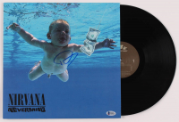 """Dave Grohl Signed Nirvana """"Nevermind"""" Vinyl Record Album (Beckett Hologram) at PristineAuction.com"""