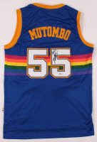 Dikembe Mutombo Signed Nuggets Jersey (Beckett COA) at PristineAuction.com
