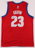 Blake Griffin Signed Pistons Jersey (Beckett COA) at PristineAuction.com