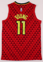 Trae Young Signed Hawks Jersey (Beckett Hologram) at PristineAuction.com