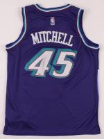 Donovan Mitchell Signed Jazz Jersey (Beckett COA) at PristineAuction.com