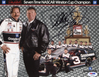 Dale Earnhardt Sr. Signed NASCAR 8x10 Photo (PSA LOA) at PristineAuction.com