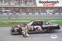 Dale Earnhardt Sr. Signed NASCAR 6x9 Magazine Print (PSA LOA) at PristineAuction.com