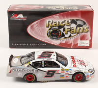 Kasey Kahne Signed LE #9 Dodge Dealers 2007 Charger Mesma Chrome 1:24 Die-Cast Car (JSA COA) at PristineAuction.com