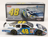 Jimmie Johnson Signed LE #48 Lowe's 2007 Monte Carlo SS 1:24 Die-Cast Car (JSA COA) at PristineAuction.com