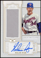 Nolan Ryan 2020 Topps Definitive Collection Definitive Autograph Relics #DARCNRY at PristineAuction.com
