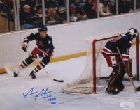 "Bill Baker Signed Team USA 8x10 Photo Inscribed ""USA 1980"" (JSA COA) at PristineAuction.com"