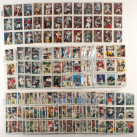 1995 Topps Complete Set of (468) Football Cards with #32 Warren Moon TYC, #33 Steve Young TYC, #34 Brett Favre TYC, #31 Dan Marino TYC at PristineAuction.com