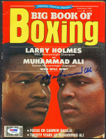 Muhammad Ali Signed 1980 Big Book of Boxing Magazine (PSA LOA) at PristineAuction.com