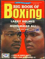 Muhammad Ali Signed 1980 Big Book of Boxing Magazine (PSA LOA) at PristineAuction.com