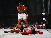 Muhammad Ali Signed 30x40 Photo (PSA LOA) at PristineAuction.com