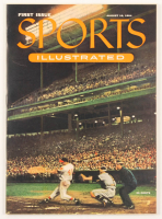 Original First Issue Sports Illustrated Magazine from August 16, 1954 with Commemorative Portfolio at PristineAuction.com