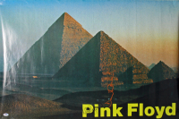"Nick Mason & David Gilmour Signed ""Pink Floyd"" 24x36 Poster (PSA LOA) at PristineAuction.com"